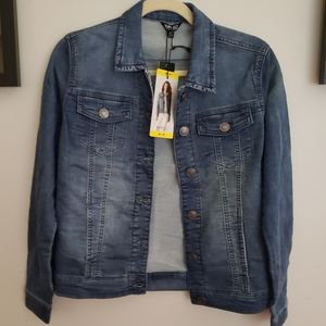 Knit Denim Jean Jacket By Buffulo David Bitton